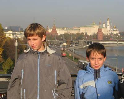 Видна кремль с патриаршего моста